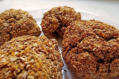 Kalorienarme Brötchen mit Weizenkleie 2