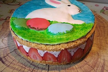 Vanille - Erdbeer - Torte à la Käse - Sahne 9