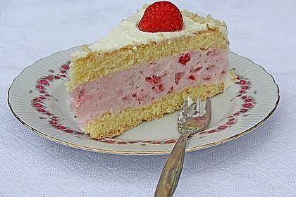 Vanille - Erdbeer - Torte à la Käse - Sahne 5
