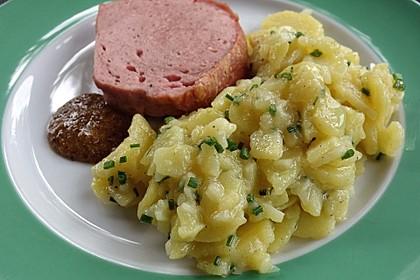 Bayerischer Kartoffelsalat 1