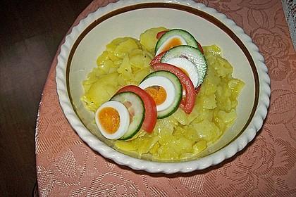 Bayerischer Kartoffelsalat 4