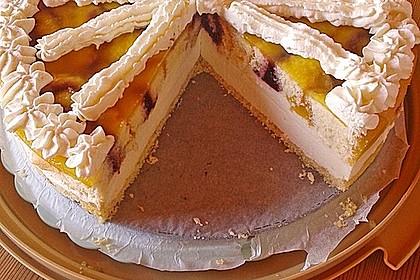 Orangen - Sauerrahm - Torte (Bild)