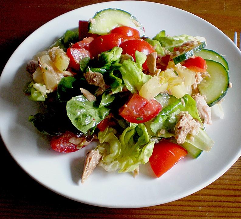 kalorienarmer thunfischsalat, annikas fruchtiger thunfischsalat von engel87   chefkoch.de, Design ideen