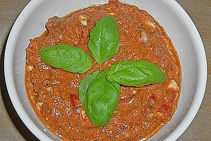Tomaten - Mozzarella - Brotaufstrich 2