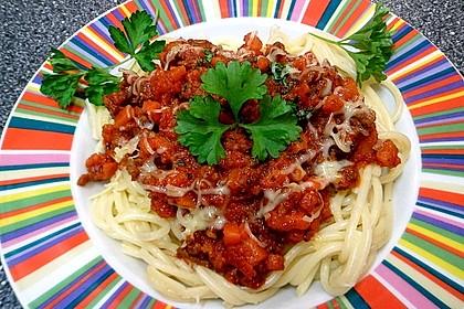 Spaghetti Bolognese 1