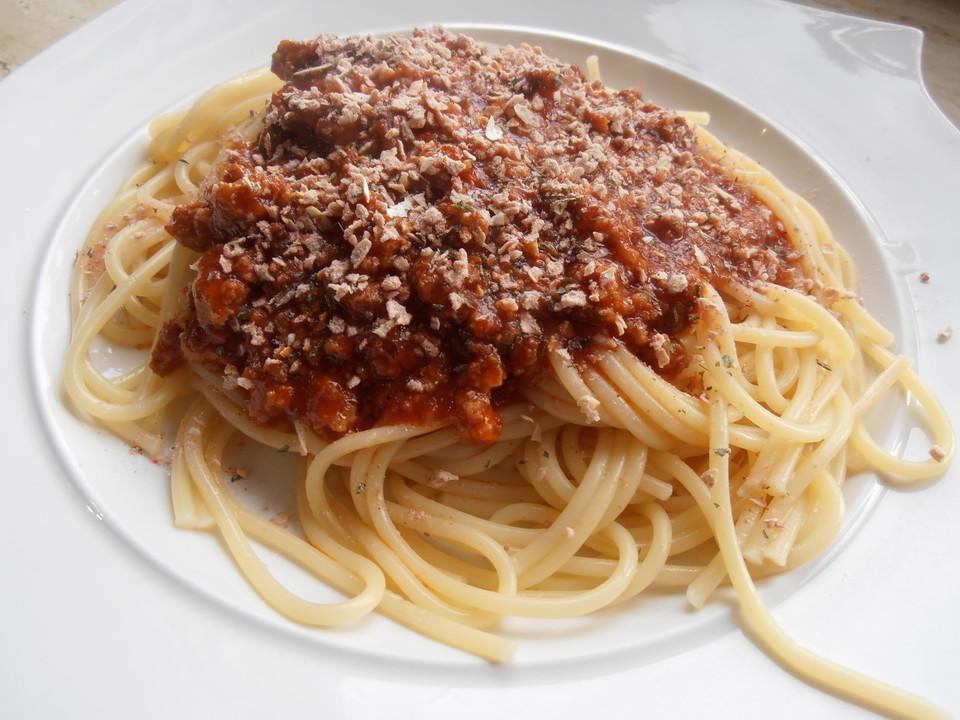 spaghetti bolognese rezept mit bild von pfaffi. Black Bedroom Furniture Sets. Home Design Ideas
