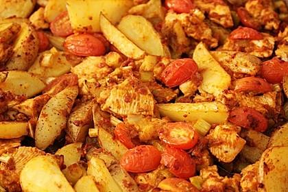 Hähnchenbrustfilet mit Country-Kartoffeln 24