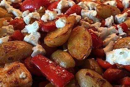 Hähnchenbrustfilet mit Country-Kartoffeln 38