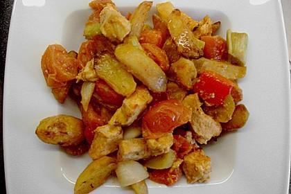 Hähnchenbrustfilet mit Country-Kartoffeln 109