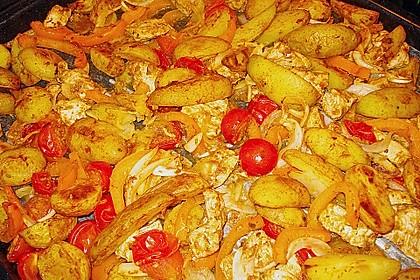 Hähnchenbrustfilet mit Country-Kartoffeln 59