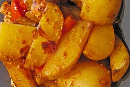 Hähnchenbrustfilet mit Country-Kartoffeln 85