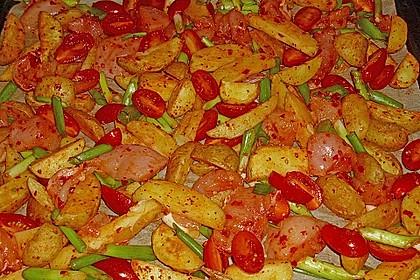 Hähnchenbrustfilet mit Country-Kartoffeln 46