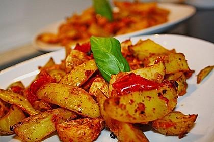 Hähnchenbrustfilet mit Country-Kartoffeln 2