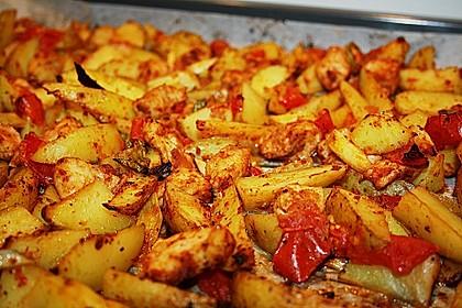 Hähnchenbrustfilet mit Country-Kartoffeln 27
