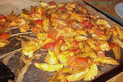 Hähnchenbrustfilet mit Country-Kartoffeln 94