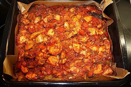 Hähnchenbrustfilet mit Country-Kartoffeln 50