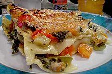 Gemüse - Lasagne mit Käsekruste