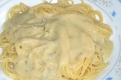Gorgonzola - Soße für Nudeln 4