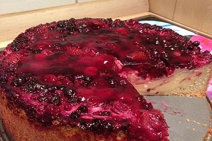 Fruchtiger Beeren - Vanille - Kuchen 4