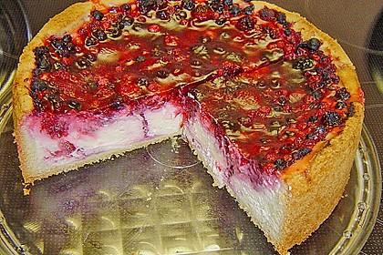 Fruchtiger Beeren - Vanille - Kuchen 1