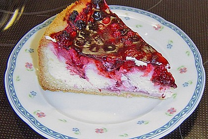 Fruchtiger Beeren - Vanille - Kuchen 11