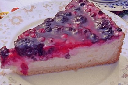Fruchtiger Beeren - Vanille - Kuchen 14