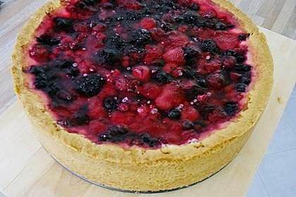 Fruchtiger Beeren - Vanille - Kuchen 13