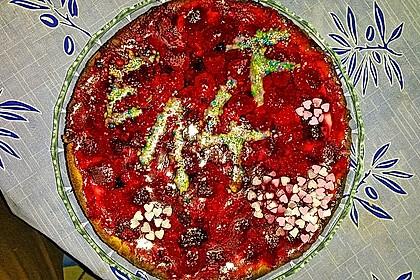 Fruchtiger Beeren - Vanille - Kuchen 15