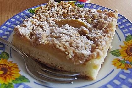 Apfelkuchen vom Blech 1