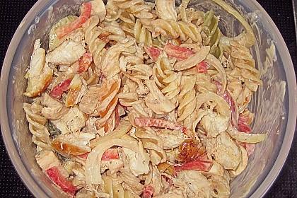 Nudelsalat mit Hähnchenbrust 4