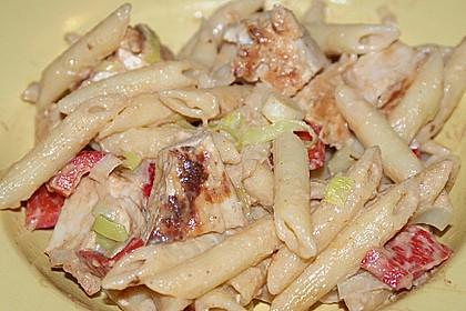 Nudelsalat mit Hähnchenbrust 1