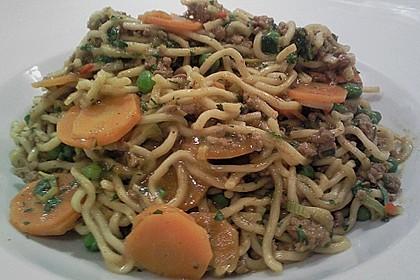 Curryrahmnudeln mit Asia - Touch 4