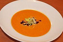 Mango - Karotten - Suppe