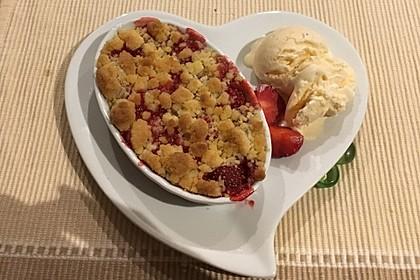 Erdbeer - Crumble 1