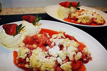 Erdbeer - Crumble 0