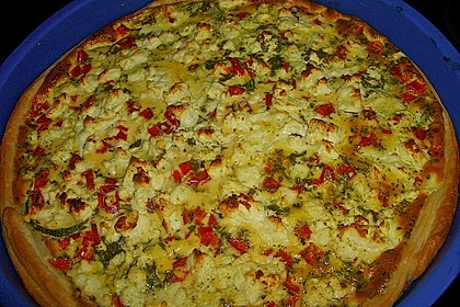 Blätterteig - Tomaten - Zucchini - Tarte 1