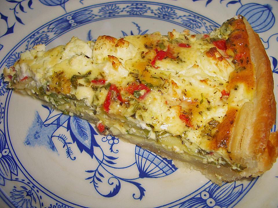 bl tterteig tomaten zucchini tarte rezept mit bild. Black Bedroom Furniture Sets. Home Design Ideas
