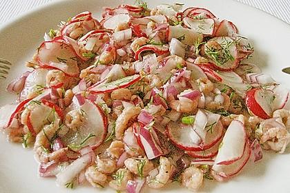 Krabbensalat in Öl - Essig - Marinade