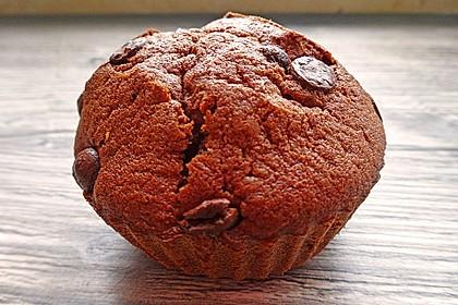 Schoko - Bananen - Muffins 4