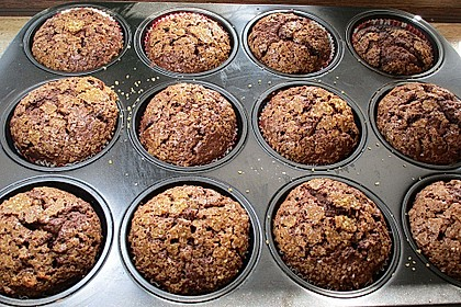 Schoko - Bananen - Muffins 6