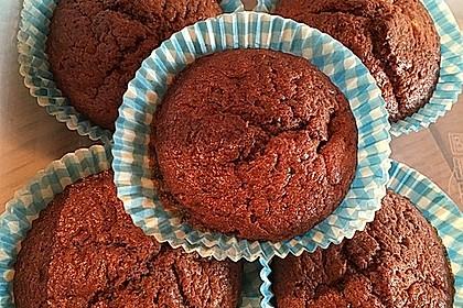 Schoko - Bananen - Muffins 16