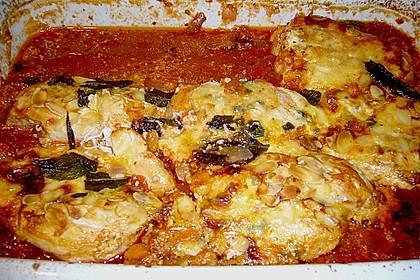 Hähnchenbrust mit Gorgonzola 1