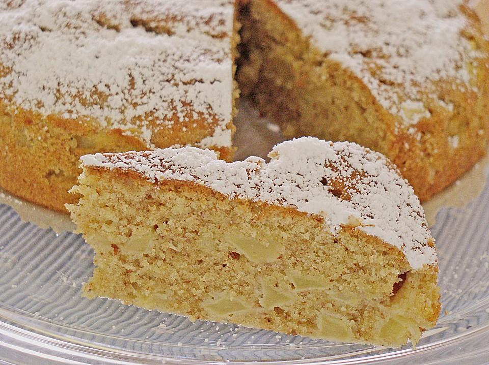 Kuchen von apfel