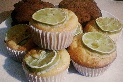 Limetten - Muffins 1