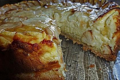 Apfel - Käsekuchen 1