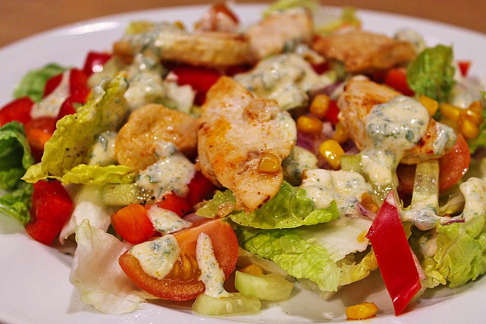 kalorienarm rezepte mit salat mit putenstreifen. Black Bedroom Furniture Sets. Home Design Ideas