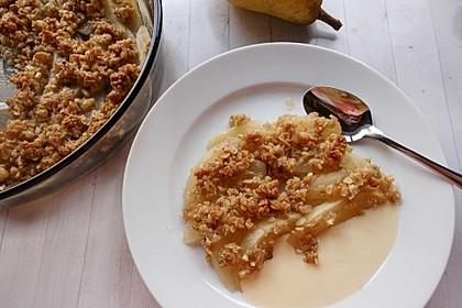 Birnen - Haselnuss - Dessert