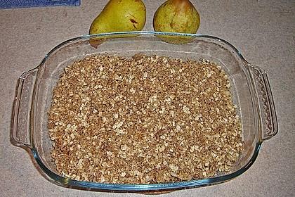 Birnen - Haselnuss - Dessert 2