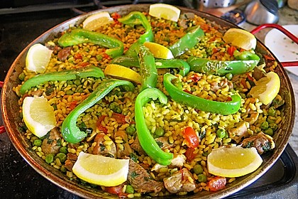 Paella nach Art von Valencia