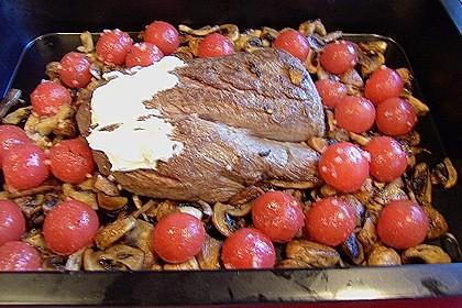 Rinderfilet aus dem Ofen 11
